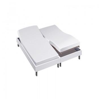 Protège matelas pour lit articulé 2x80x200