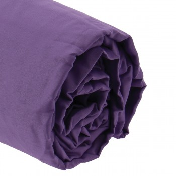 Drap housse satin 160x200 bonnet 40 cm