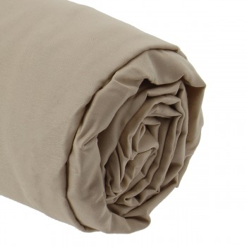 Drap housse satin 200x200 bonnet 30 cm