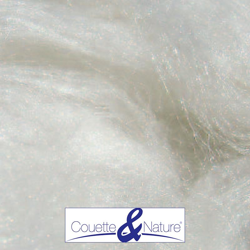 Couette soie naturelle 500 gr/m2 140x200 vue d'interieur